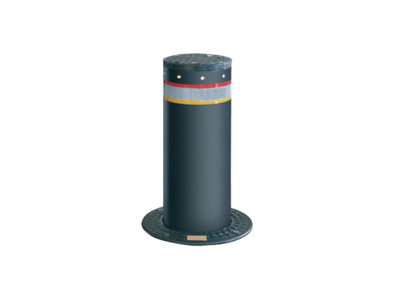 Retractable electric bollard Retractable bollard by Lazzari