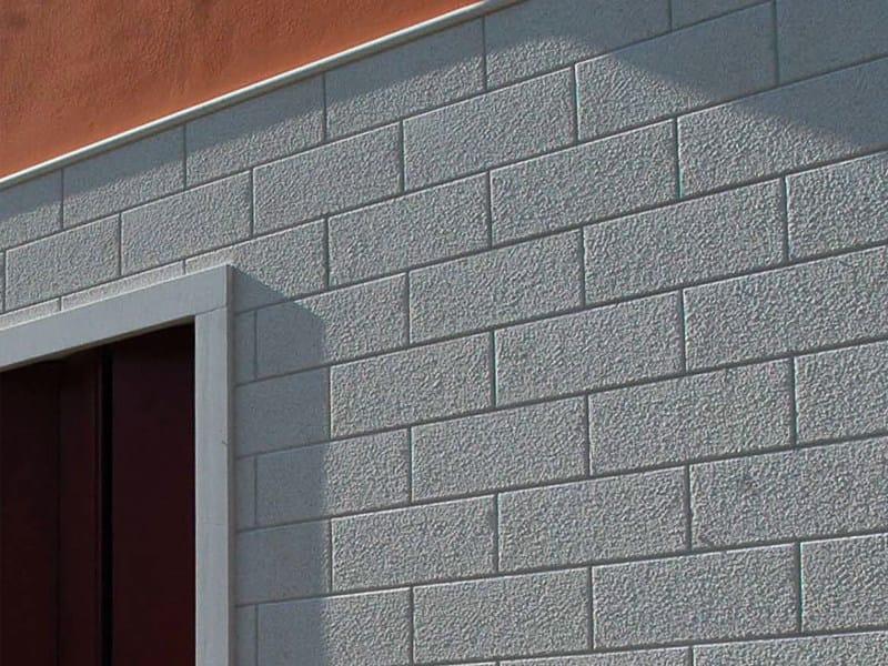 Thermal concrete block Muratura termoisolante a facciavista by Edil Leca Murature