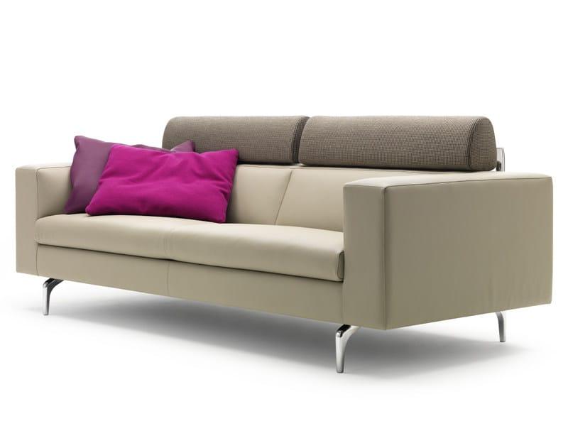 Sectional leather sofa HORATIO - LEOLUX