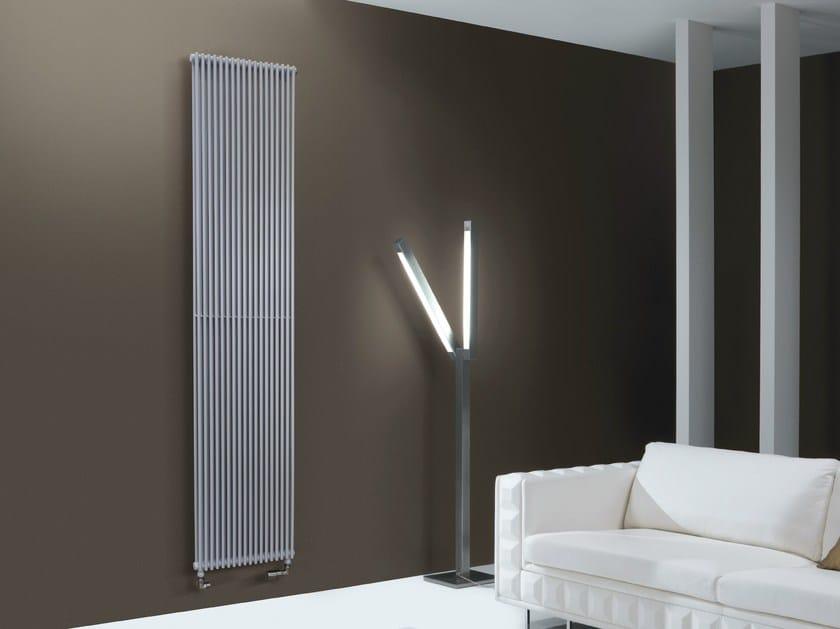 Wall-mounted steel decorative radiator HEGOLINE 13   Vertical decorative radiator - DELTACALOR