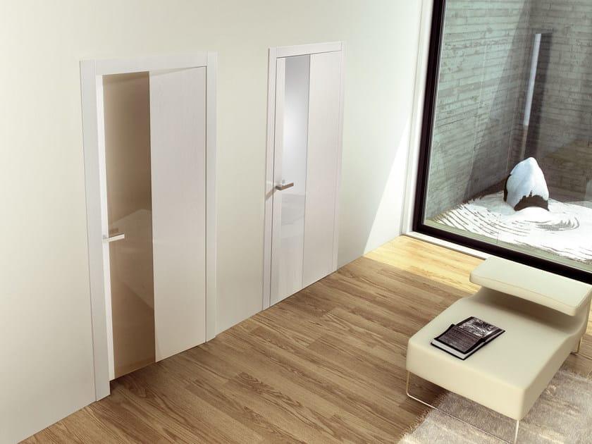 Hinged lacquered wooden door MEKONG - Ghizzi & Benatti