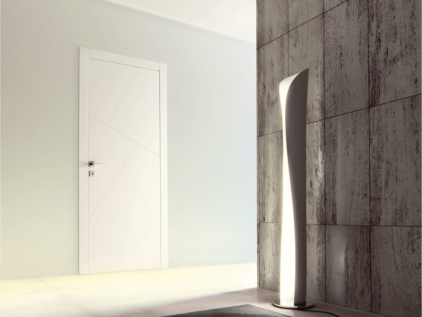 Flush-fitting lacquered door RIO - Ghizzi & Benatti