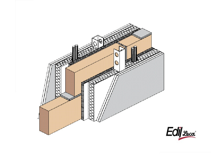 Sound insulating concrete masonry block Bioclima fonoisolante antisfondamento - EDIL LECA Divisione MURATURE