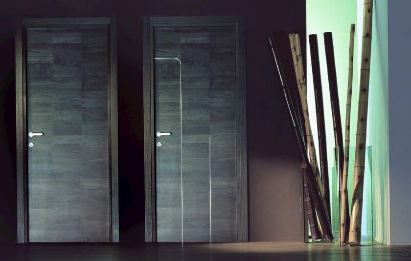 Hinged wooden door URBAN - Ghizzi & Benatti