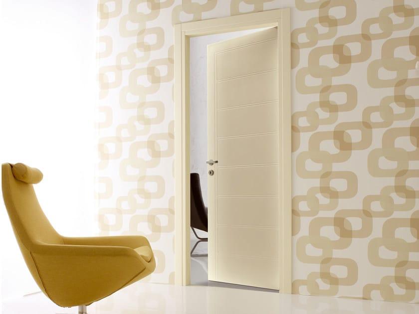 Hinged wooden door NOVA - Ghizzi & Benatti