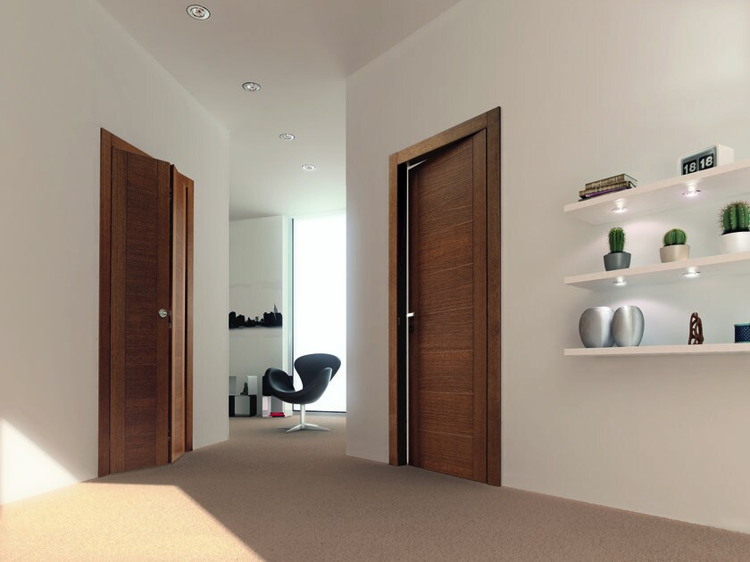 Hinged wooden door TANGO - Ghizzi & Benatti
