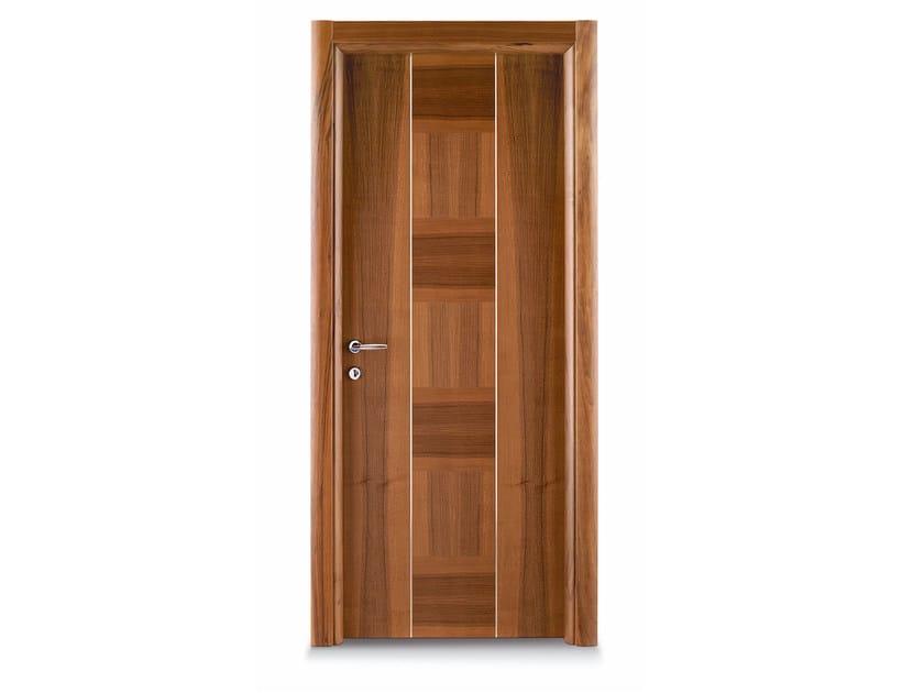 Hinged wooden door DADA by Ghizzi & Benatti