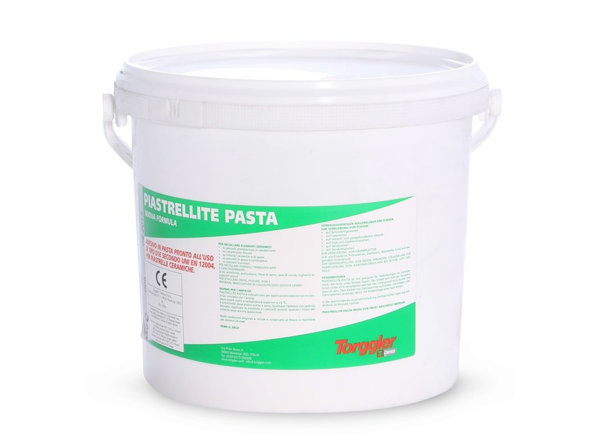 Adhesive for flooring PIASTRELLITE PASTA by Torggler Chimica