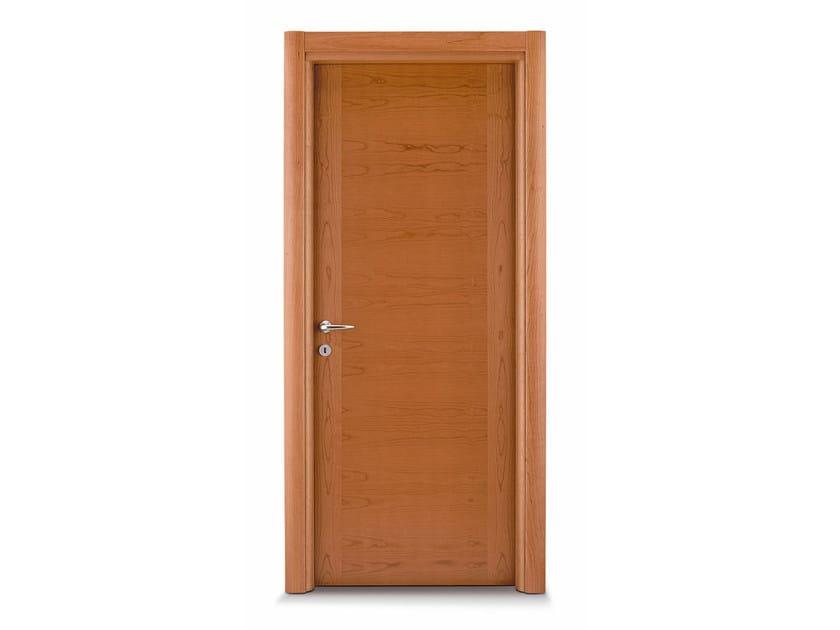 Hinged wooden door MIMOSA by Ghizzi & Benatti