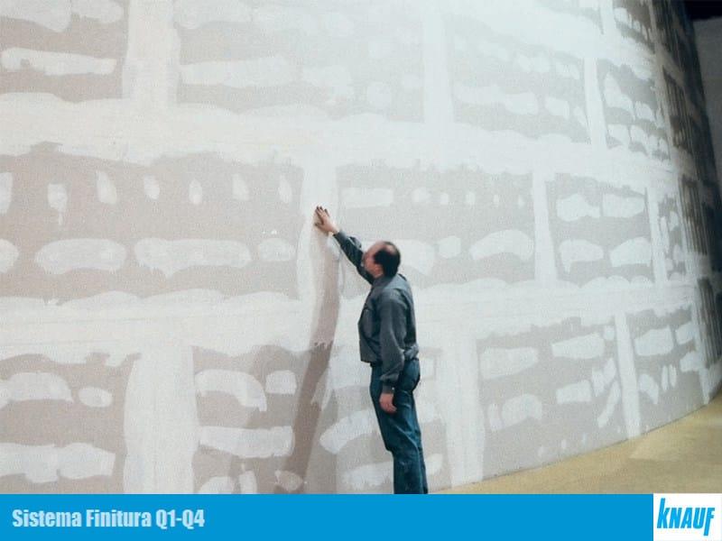 Gypsum and decorative plaster SISTEMA Q1-Q4 - Knauf Italia