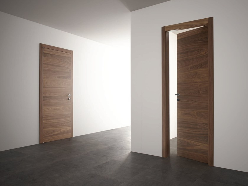 Hinged wooden door STRATO | Hinged door - Ghizzi & Benatti