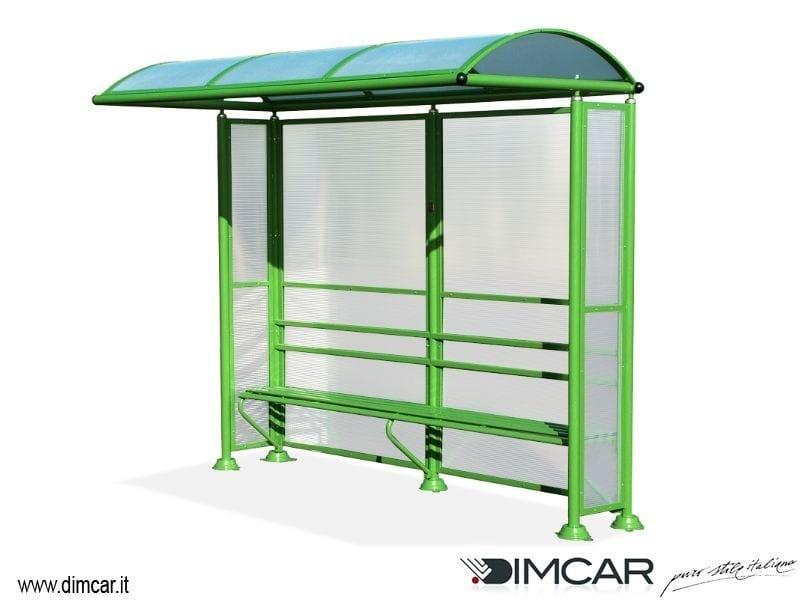 Steel porch Pensilina Mini - DIMCAR