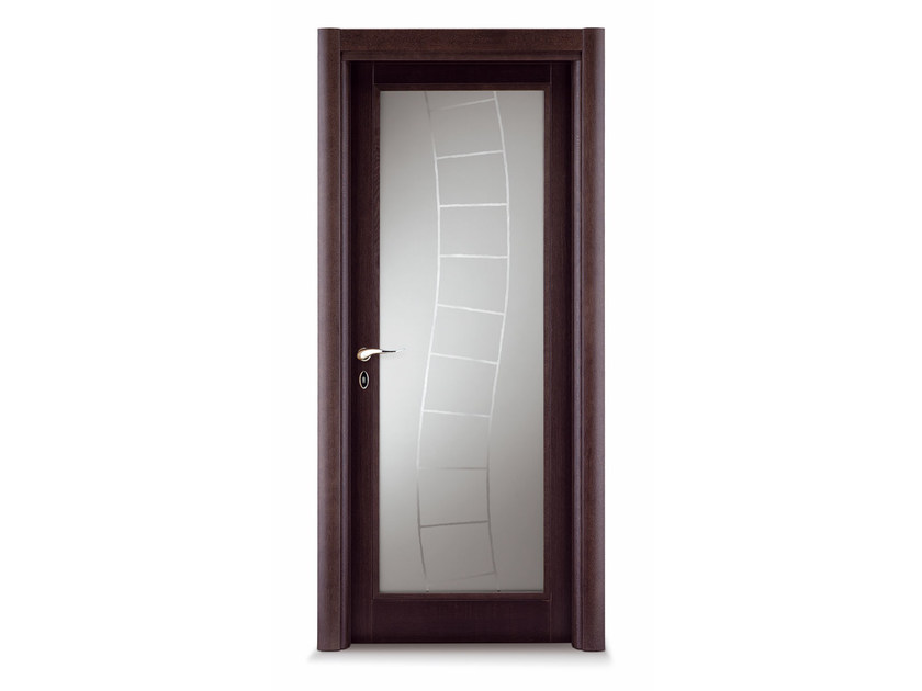 Porta a battente in vetro orione porta in vetro ghizzi for Porta vetro battente