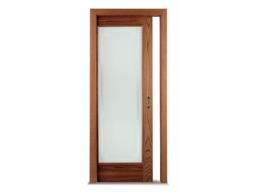 Porta scorrevole a scomparsa in vetro vetra ghizzi benatti for Porta scorrevole a scomparsa