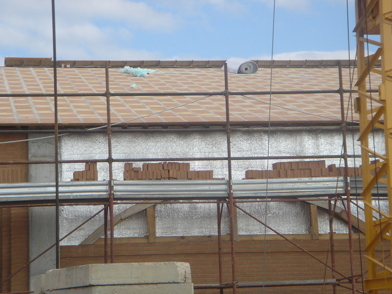 Polyethylene thermal insulation panel ISOLIVING® - SA.M.E.