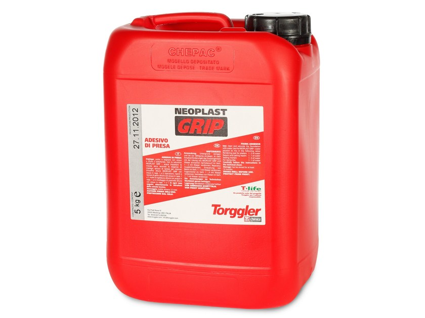 Additive for cement and concrete NEOPLAST GRIP - Torggler Chimica