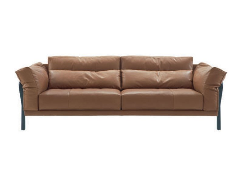 Leather sofa CITYLOFT - ROSET ITALIA