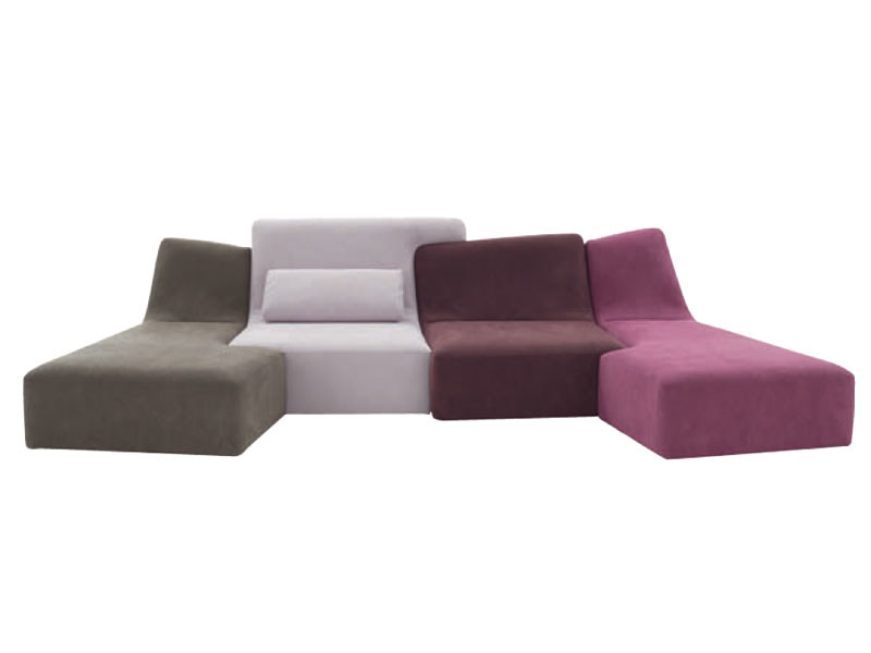 Sectional upholstered sofa CONFLUENCES - ROSET ITALIA