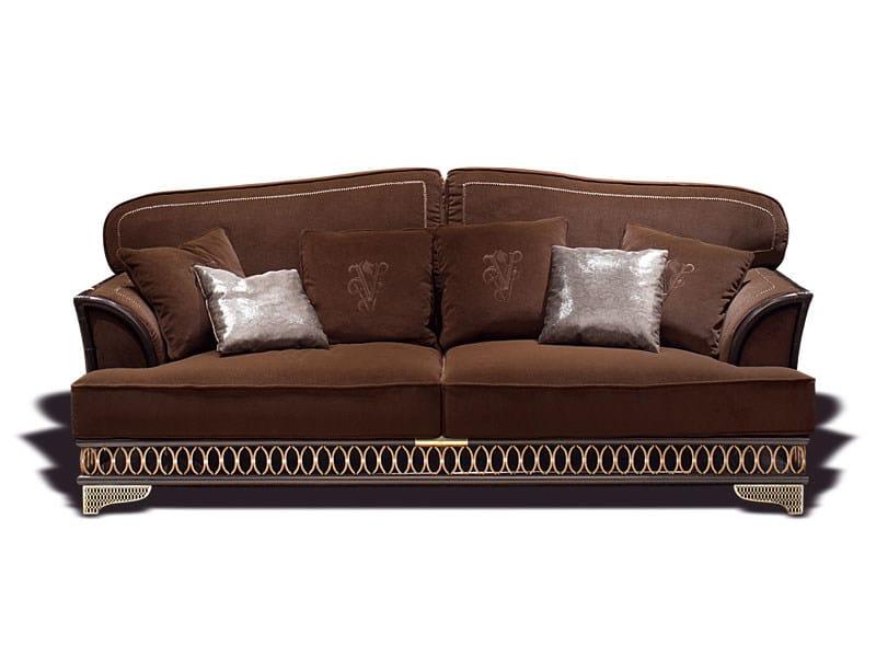 Sof tapizado de tela bramante colecci n dehor by visionnaire dise o samuele mazza - Tela tapizado sofa ...