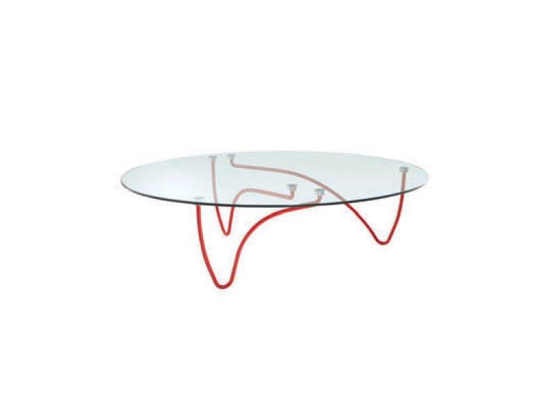 Glass coffee table RYTHME - ROSET ITALIA