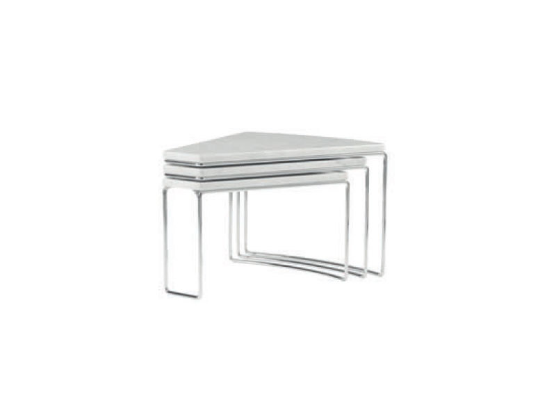 Swivel marble coffee table DOC by Ligne Roset