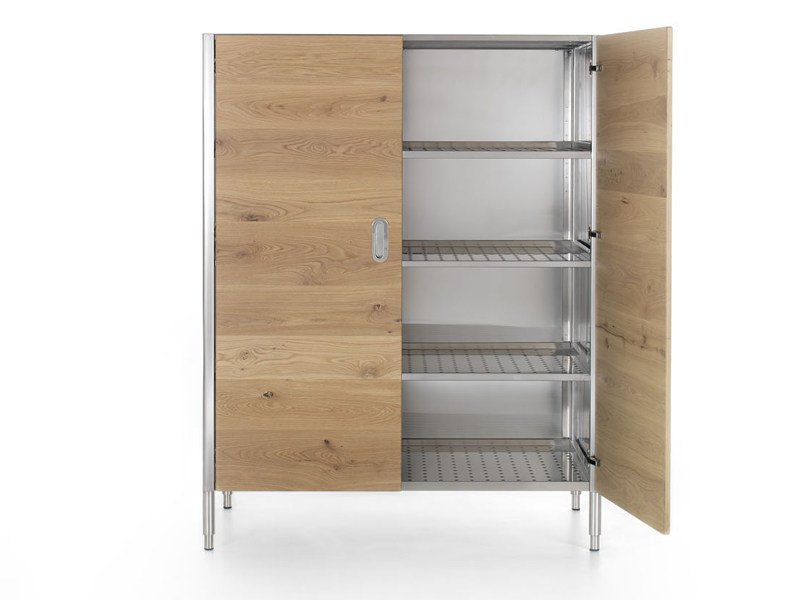 Wooden kitchen unit LIBERI IN CUCINA | Kitchen unit - ALPES-INOX