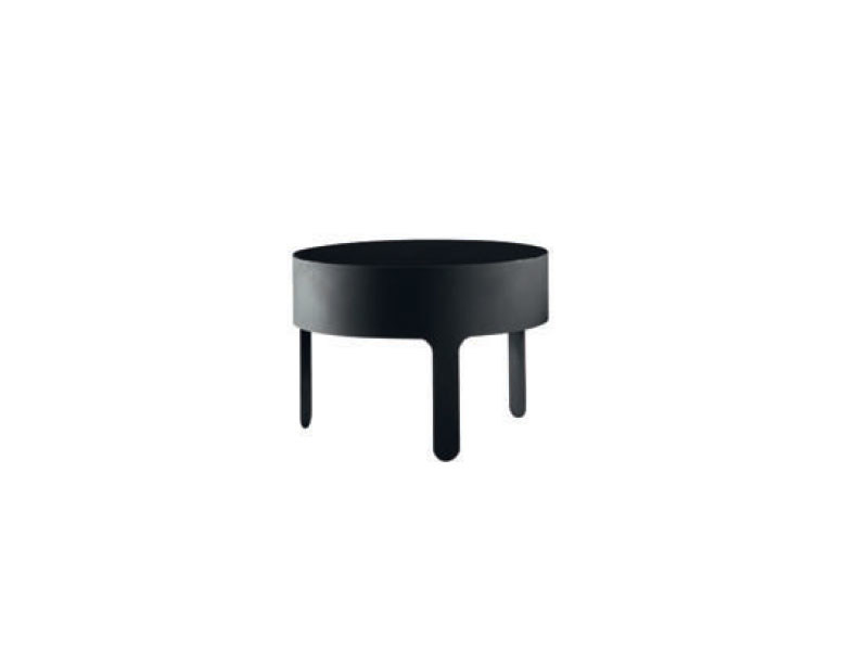 Low steel coffee table MEÏDA by Ligne Roset