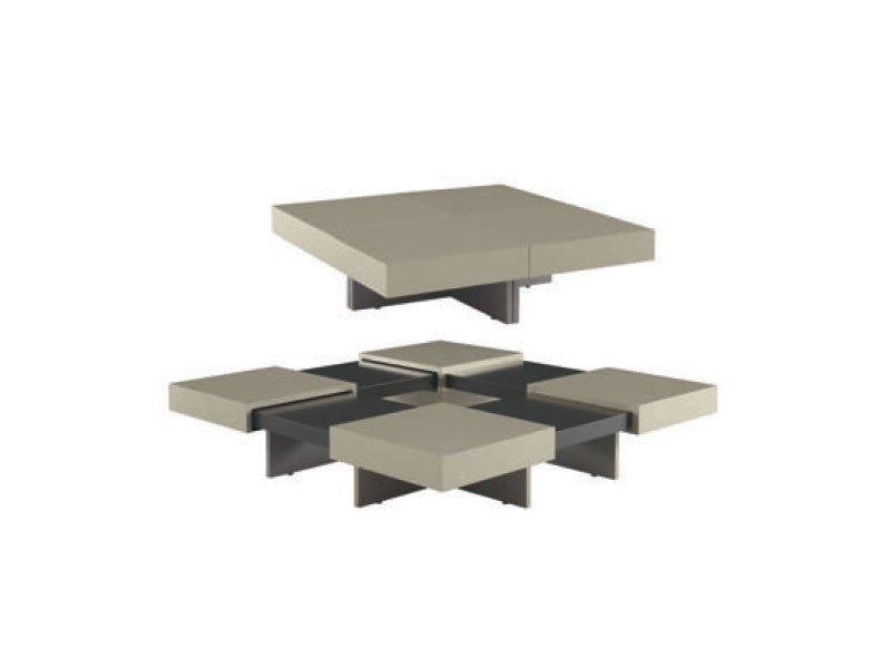 Extending oak coffee table translation by roset italia - B b italia link table ...