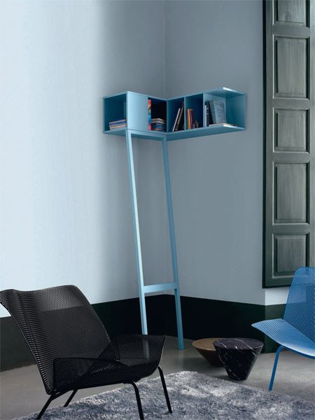 mdf wall shelf etag re de coin by roset italia design. Black Bedroom Furniture Sets. Home Design Ideas