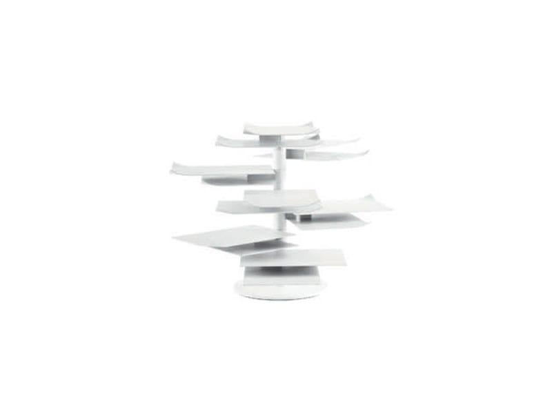 Steel coffee table / magazine rack PAPER TABLE - ROSET ITALIA