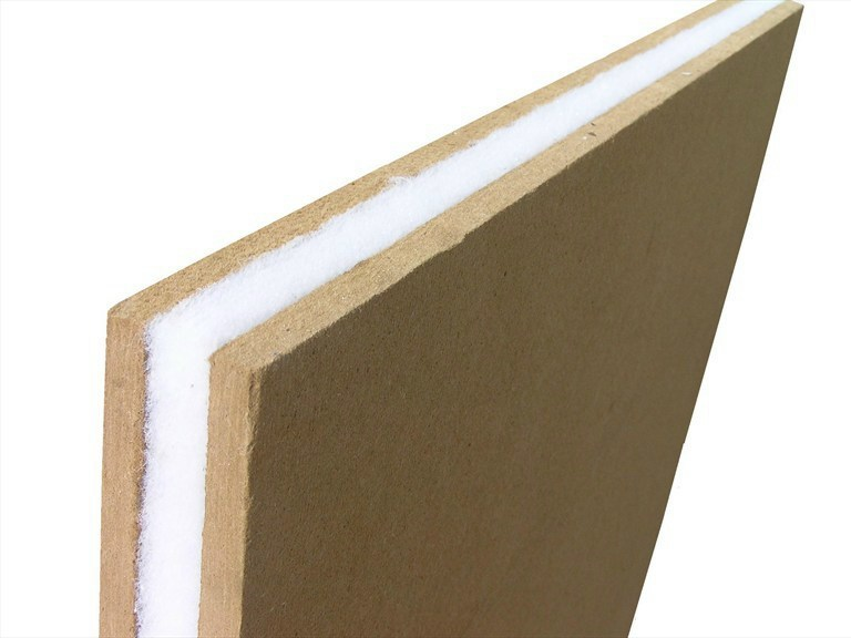 Wood fibre sound insulation panel REPFON - | Wood fibre sound insulation panel - RE.PACK