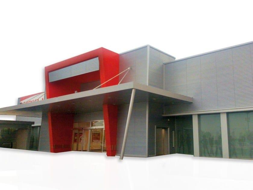 Ventilated facade LightWall - TECNO IMAC