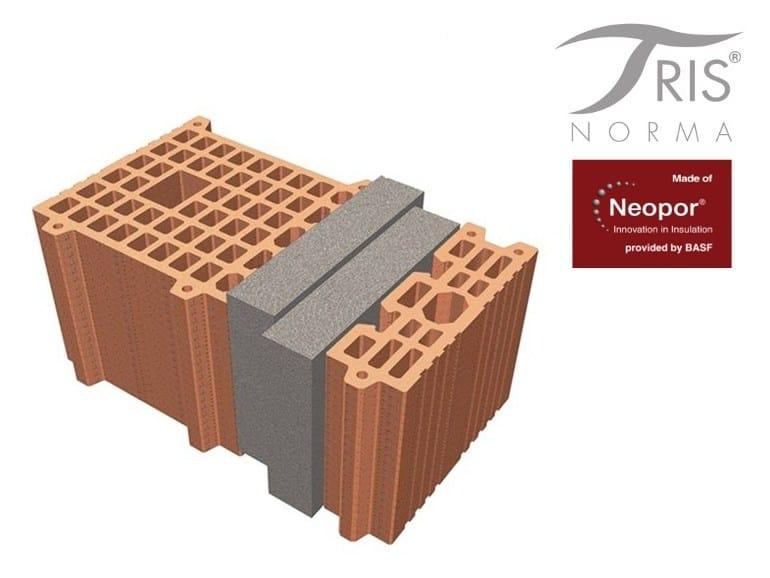 Clay block for loadbearing masonry NormaTRIS® PORTANTE - FORNACI DI MASSERANO®