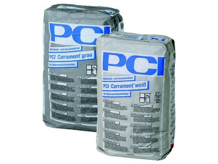 Cement-based glue PCI CARRAMENT - BASF Construction Chemicals Italia