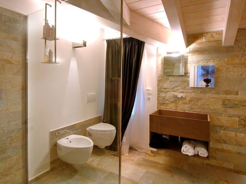 Pavimento rivestimento in pietra naturale quarzite mix - Rivestimenti bagno in pietra naturale ...