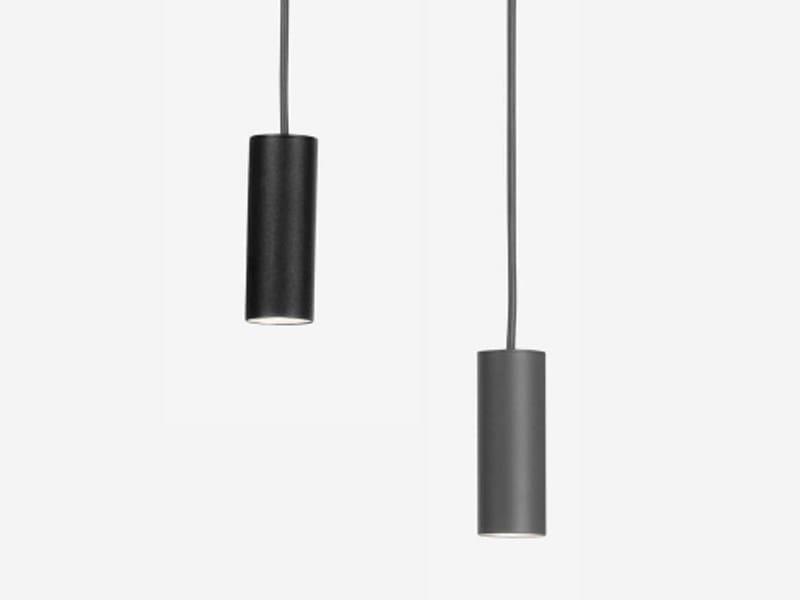 Adjustable aluminium pendant lamp LIFT - ZERO