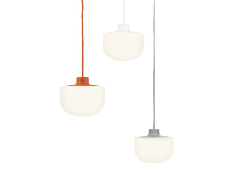 Aluminium pendant lamp PISTILL | Pendant lamp - ZERO