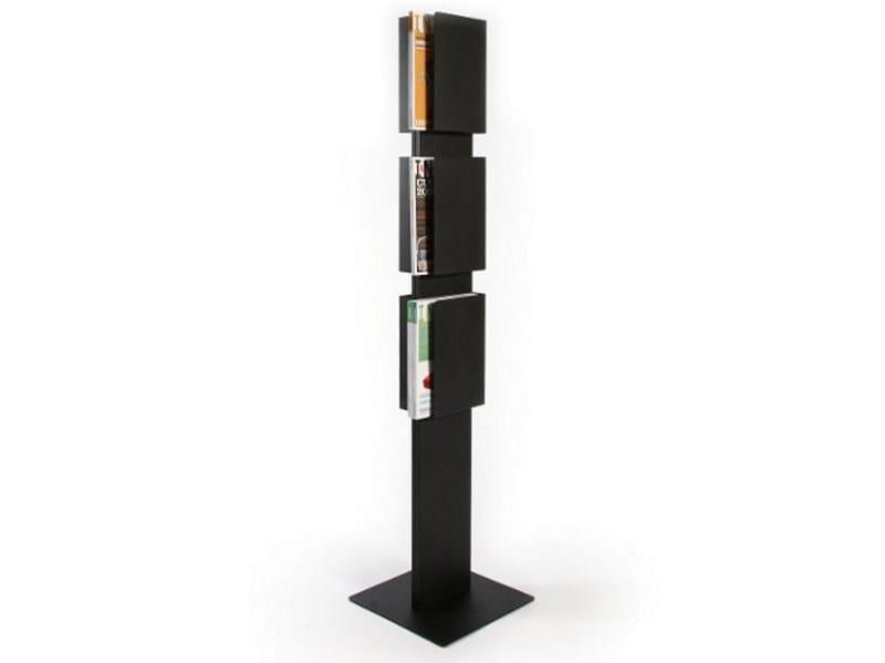 Steel magazine rack FLOOR CASE - Inno Interior Oy