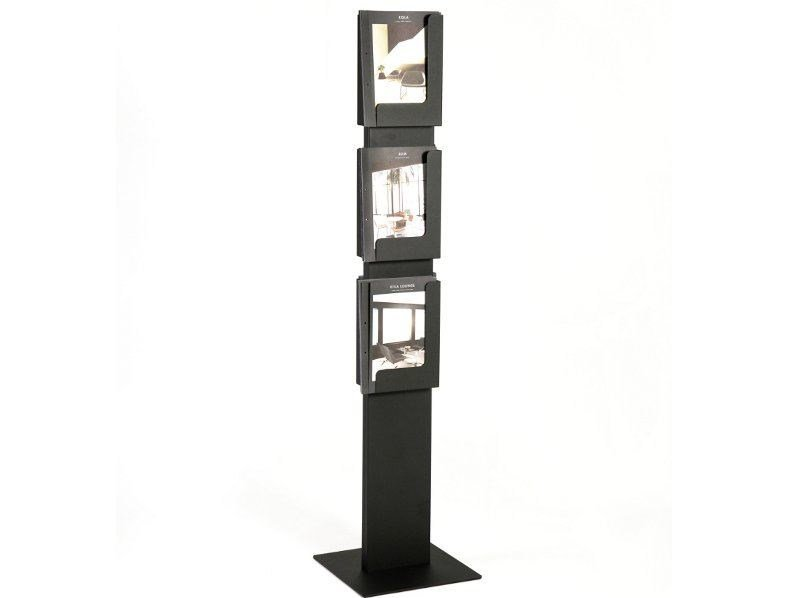 Steel magazine rack AD CASE - Inno Interior Oy