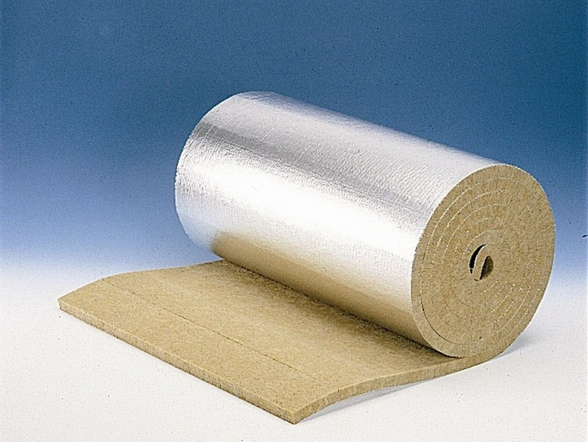 Rock wool thermal insulation felt PAROC Pro Lamella Mat by LINK industries