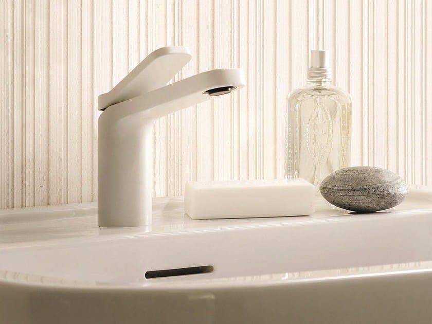 Countertop 1 hole painted-finish washbasin mixer LEVANTE | Painted-finish washbasin tap - Fantini Rubinetti