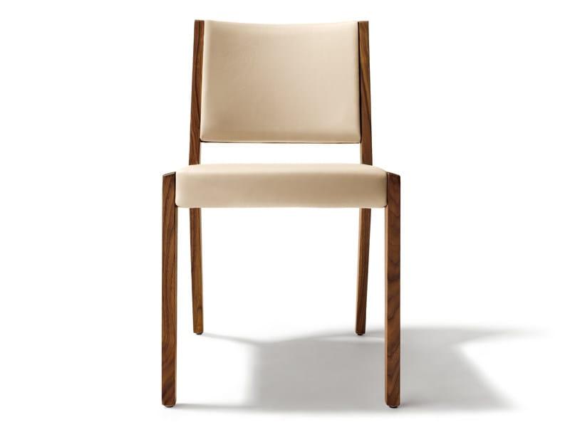Leather chair EVIVA | Chair - TEAM 7 Natürlich Wohnen