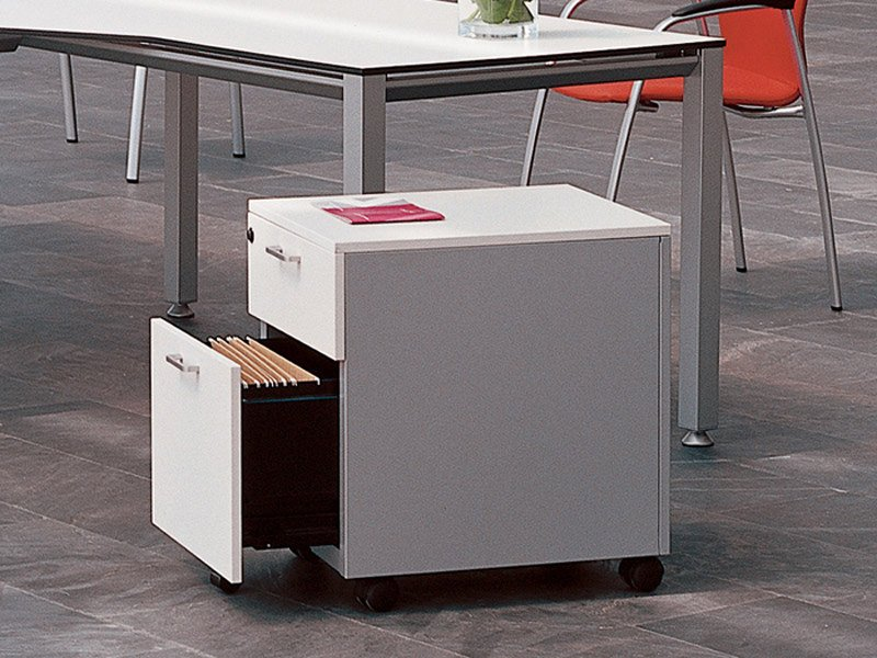 Melamine office drawer unit Office drawer unit by ACTIU