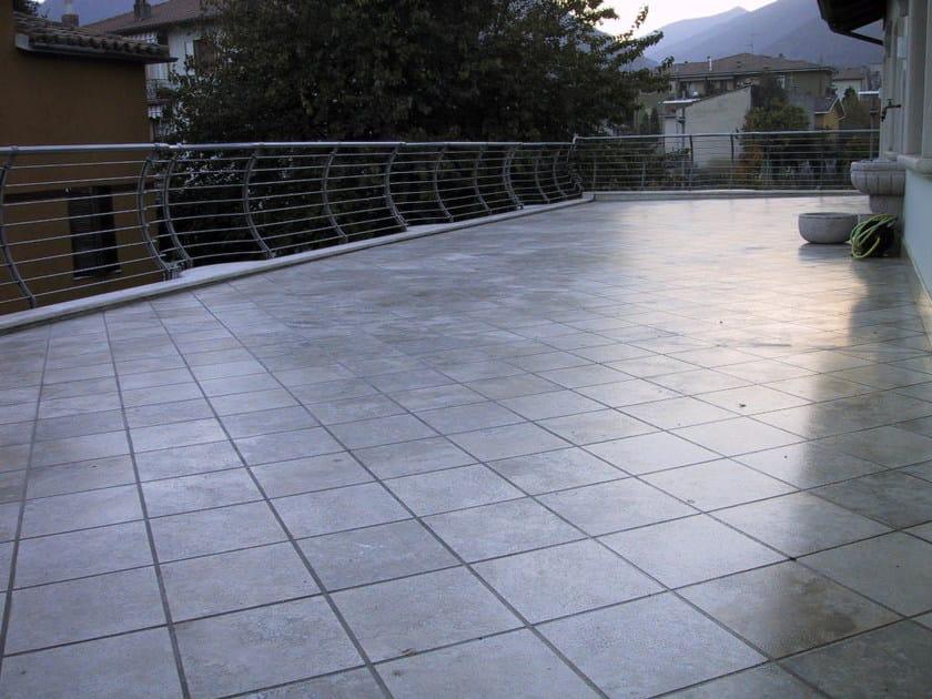 Impermeabilizzazione terrazze pavimentate – Profilati alluminio