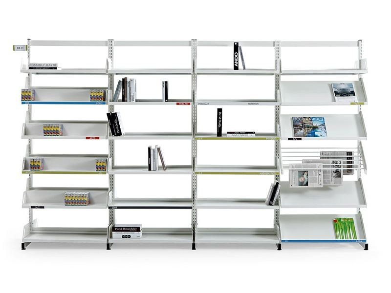 Modular steel office shelving LEVEL by ACTIU