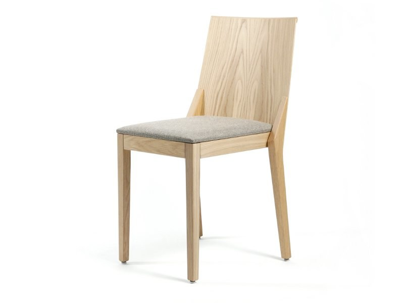 Stackable wooden chair C.D. STACK WOOD - Inno Interior Oy
