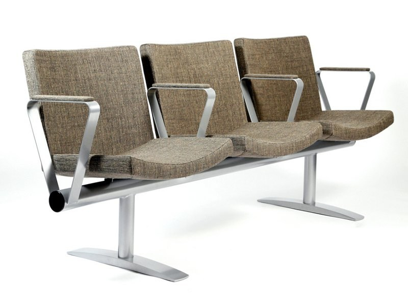 Beam seating with armrests BEAM | Beam seating - Inno Interior Oy