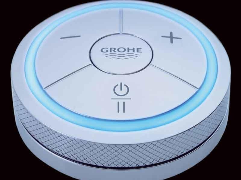 colonna doccia con doccetta grohe f digital grohe. Black Bedroom Furniture Sets. Home Design Ideas