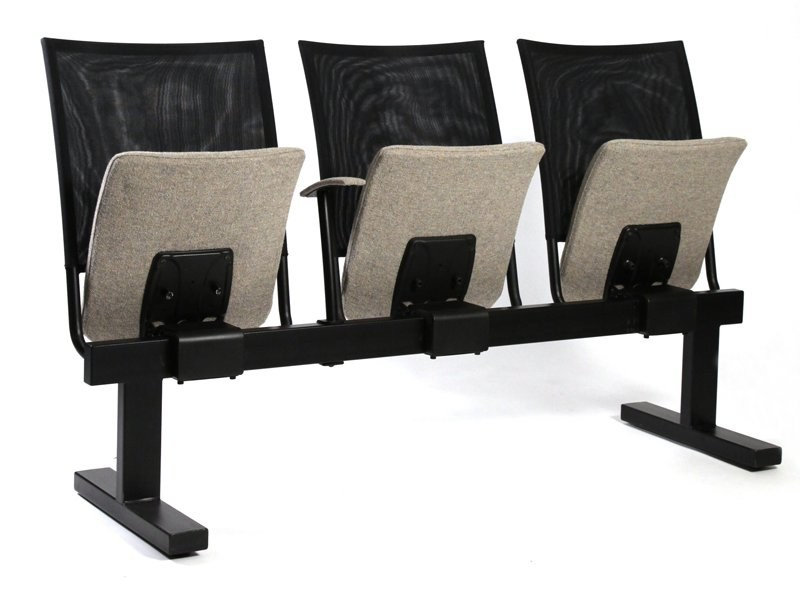 Beam seating with tip-up seats SESSIO - Inno Interior Oy