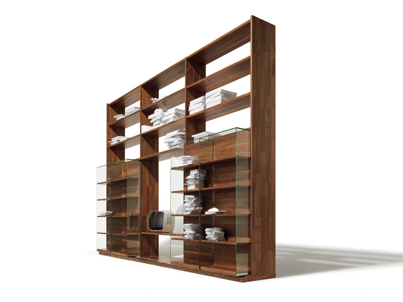 biblioth que ouverte sur pied en bois cubus collection. Black Bedroom Furniture Sets. Home Design Ideas